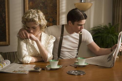 Scarlett in Black Dahlia