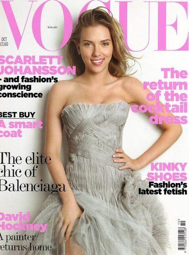 Scarlett in Vogue UK, 2006