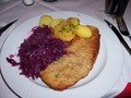 Schnitzel with Sauerkraut - germany photo