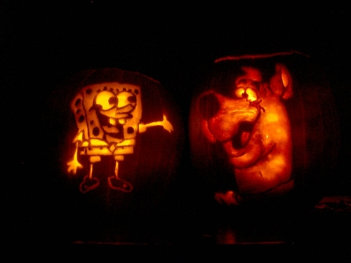 Scooby-Doo 壁紙 called Scooby-Doo Jack-O-Lantern