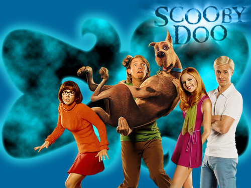 映画 壁紙 called Scooby Doo