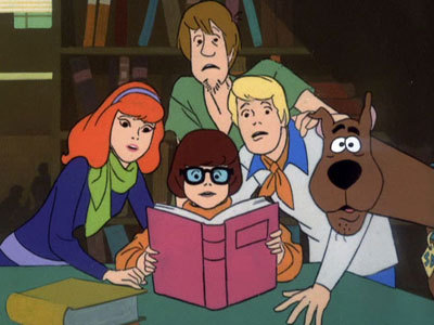 Scooby-Doo achtergrond titled Scooby and the Gang