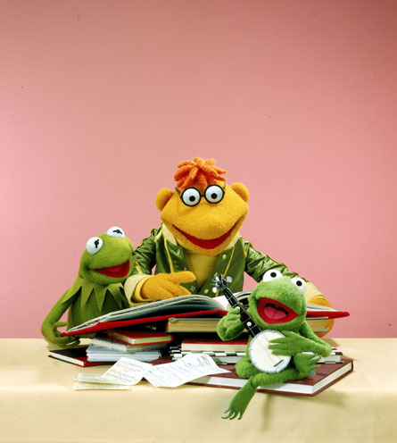 Scooter, Kermit & Robin