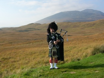 Scotland wallpaper titled Scottish Piper