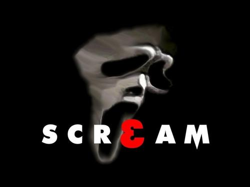 Film wallpaper entitled Scream