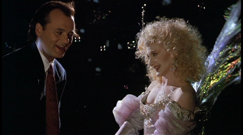 Scrooged cast