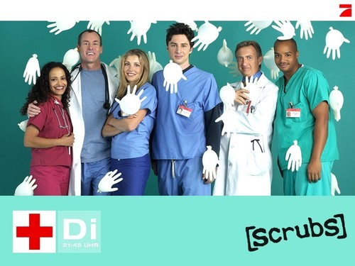 Scrubs wallpaper entitled Scrubs Cast