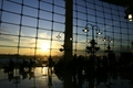 SeaTAC Sunset - air-travel photo