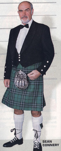 Sean Connery - kilts Photo