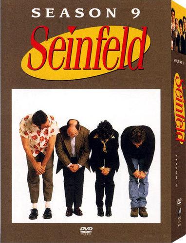 Seinfeld Season 9 DVD Cover