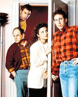 Seinfeld kertas dinding entitled Seinfeld