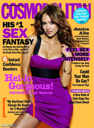 Cosmopolitan wallpaper titled September 2007 Cover