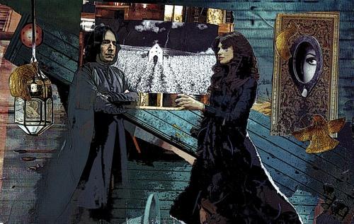 Severus Snape wallpaper entitled Severus and The Endless