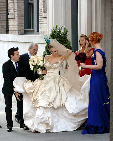 Sex and the City wedding