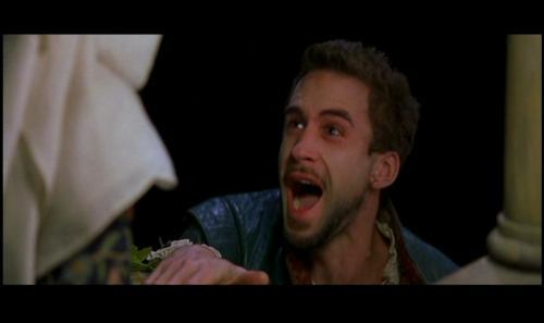 Shakespeare in upendo Screen cap, herufi kubwa