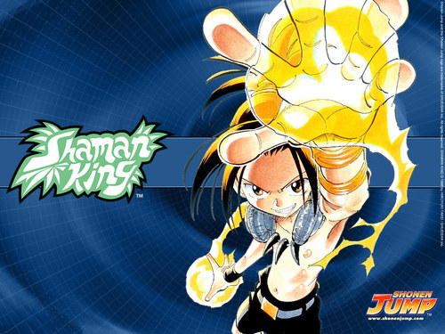 Shaman King wallpaper titled Shamn KIng Yoh wallpaper