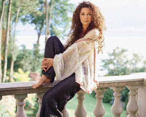 Shania Twain karatasi la kupamba ukuta entitled Shania Twain