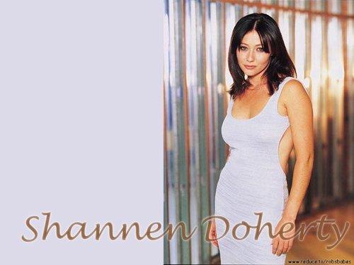 চার্মড্ দেওয়ালপত্র called Shannen Doherty