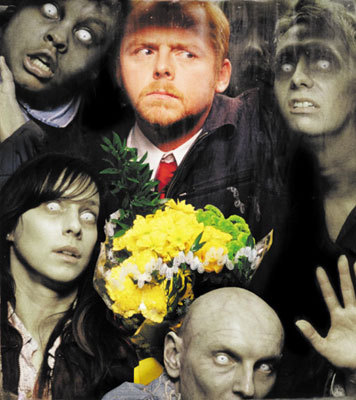 Shaun of the Dead wallpaper called Shaun.....and dead people.