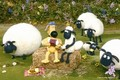 Shaun & Bitzer - shaun-the-sheep photo