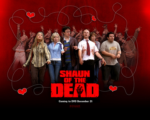 Shaun of the Dead wolpeyper titled Shaun of the dead background