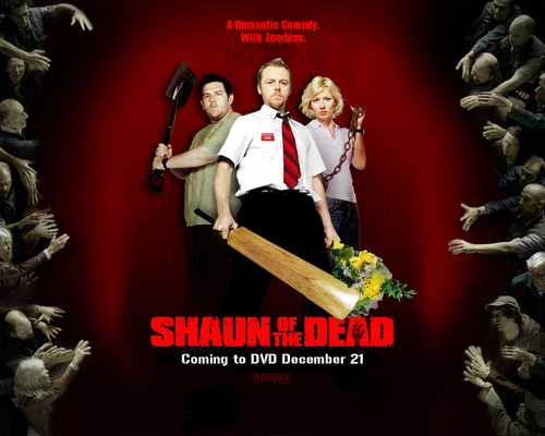 Shaun of the Dead wolpeyper entitled Shaun of the dead background