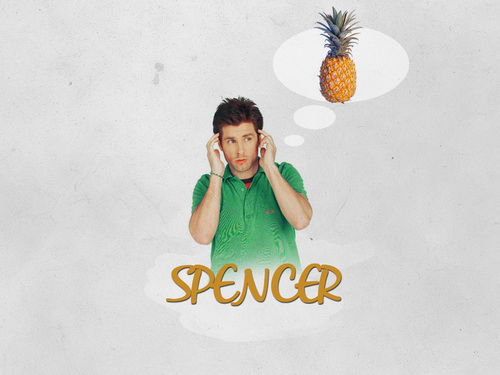 Shawn and Pineapple kertas dinding