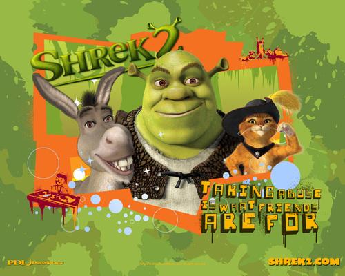 Shrek 2 پیپر وال