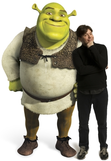 Shrek and Mike Myers