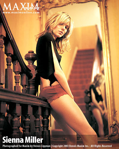 Sienna Maxim Shoot 2003