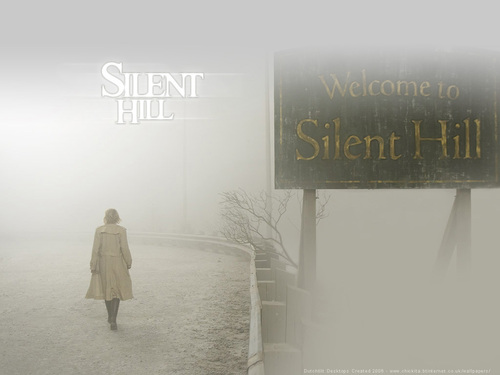 Film horror wallpaper entitled Silent collina