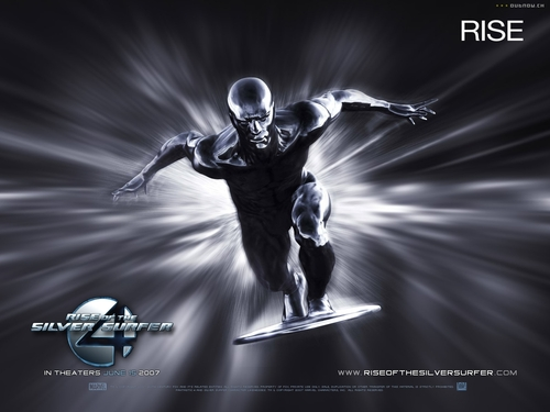 Fantastic Four wallpaper titled Silver Surfer