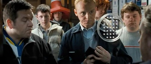 Simon Pegg wallpaper entitled Simon in Hot Fuzz