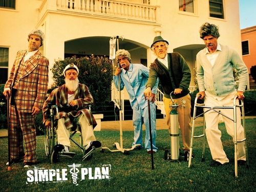 Simple Plan achtergrond titled Simple Plan