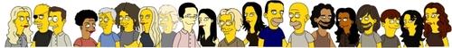 Simpsonised Losties