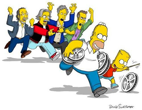Simpsons Movie Caricature