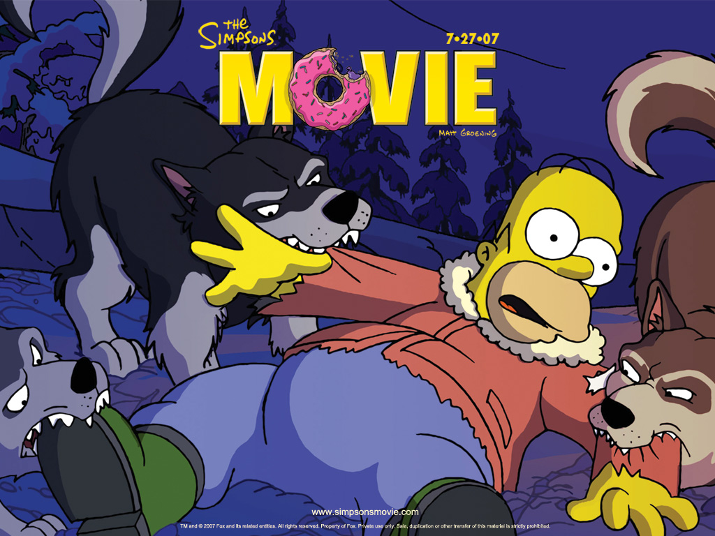 simpsons movie the simpsons movie wallpaper 106229