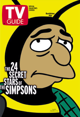 Simpsons TV Guide Covers