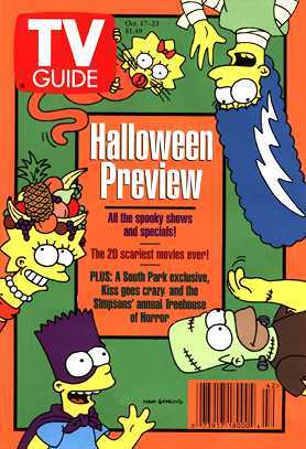 The Simpsons wallpaper entitled Simpsons TV Guide Covers
