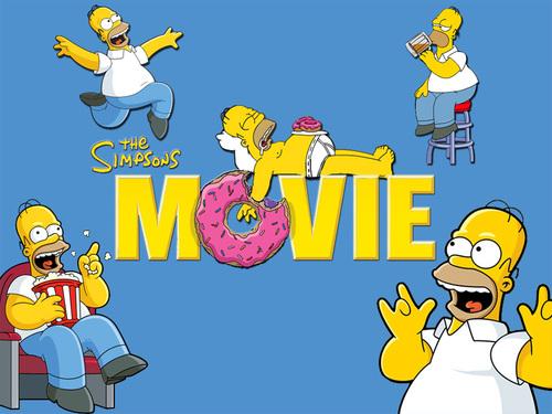 Simpsons پیپر وال