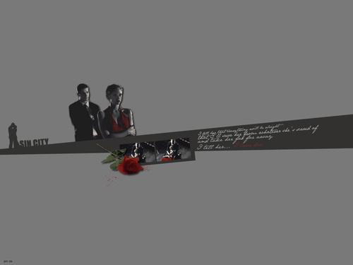 Josh Hartnett achtergrond titled Sin City