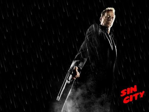 Bruce Willis wallpaper entitled Sin City wallpaper
