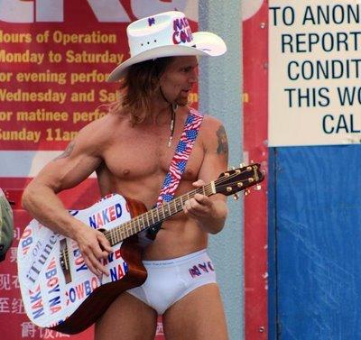 Singing Naked Cowboy