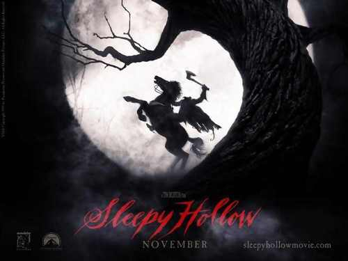Tim burton achtergrond called Sleepy Hollow