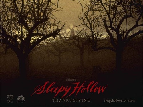 Tim burton kertas dinding called Sleepy Hollow
