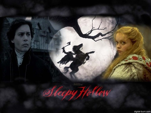Tim burton karatasi la kupamba ukuta called Sleepy Hollow