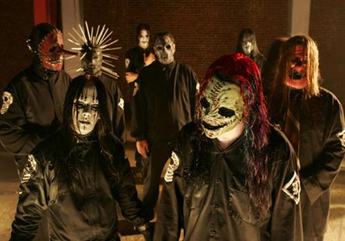 Metal wallpaper entitled Slipknot