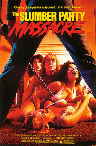 80s Films 바탕화면 titled Slumber Party Massacre