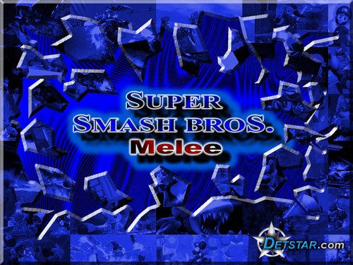 Super Smash Brothers Wallpaper Entitled Bros Melee