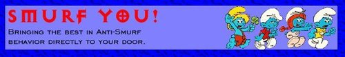 Smurf Banner